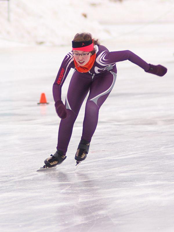 2013 Kortebaan speed skating competition in Edmonton, AB.