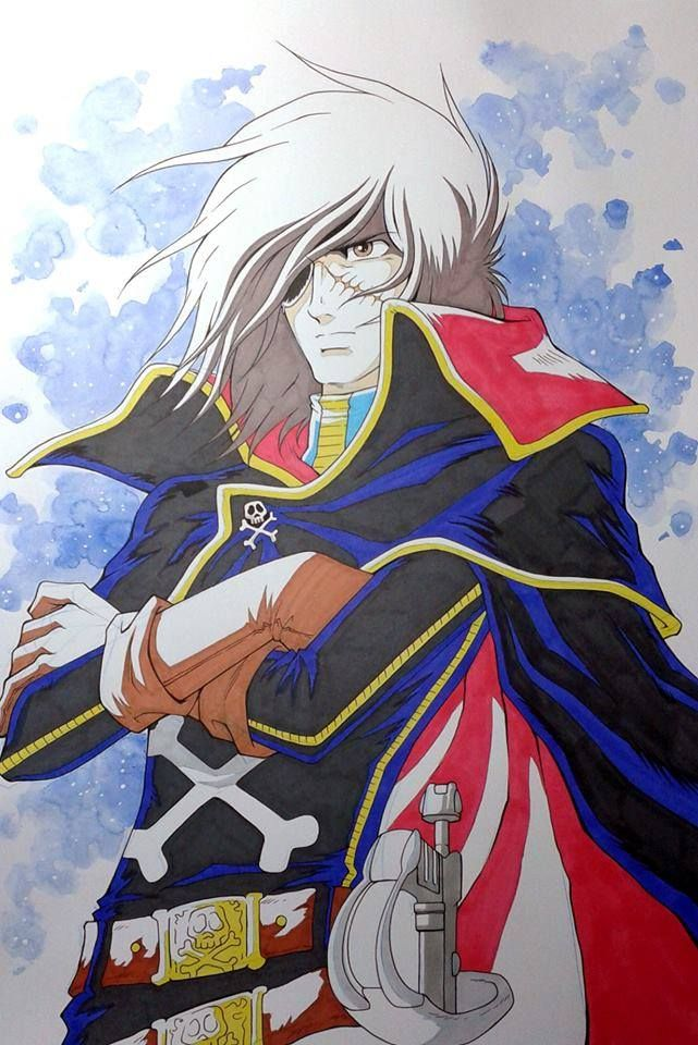 Captain Harlock by Jerome Alquie *