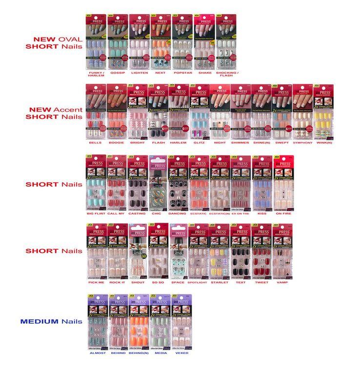 Kiss imPRESS Press-On Manicure Nails (Short & Medium Lengths) #KissBroadway