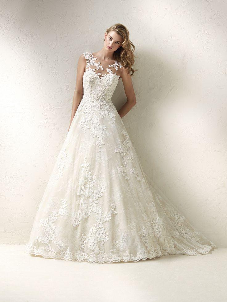 93 best Pronovias Wedding Dresses images on Pinterest | Wedding ...
