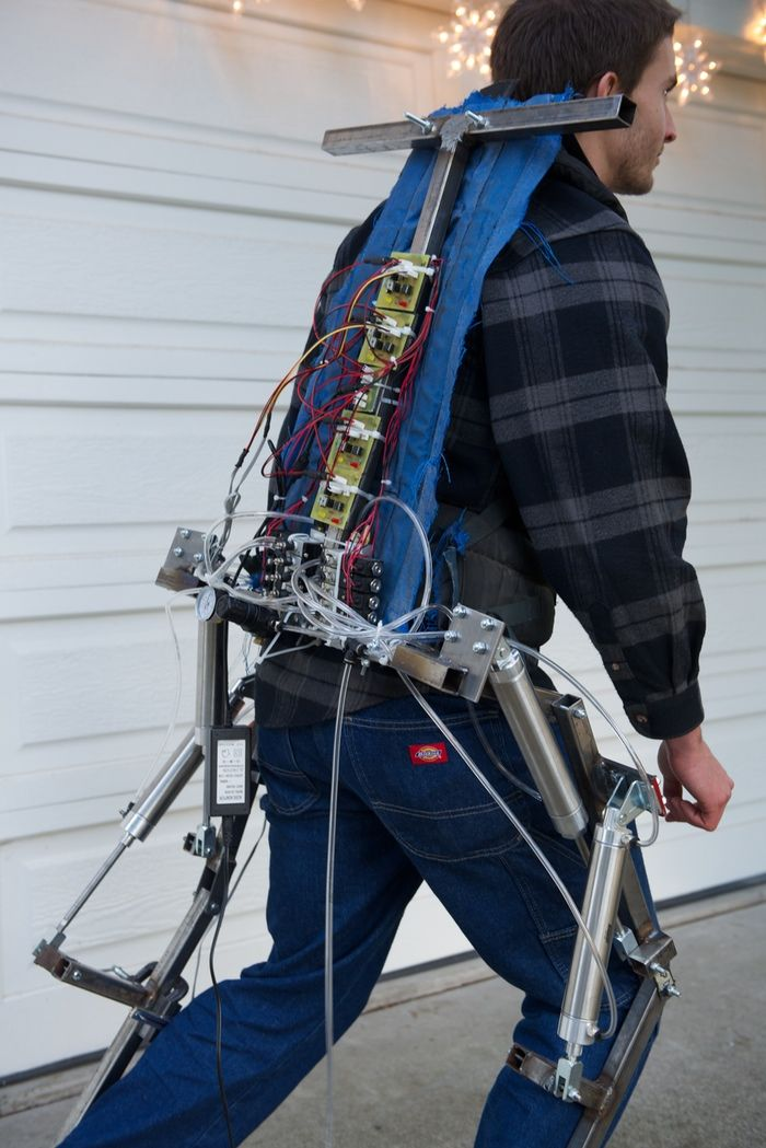 AJAX Exosuit: Wearable powered exoskeleton