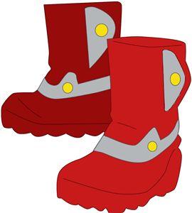 Silhouette Online Store - View Design #5133: snowboots