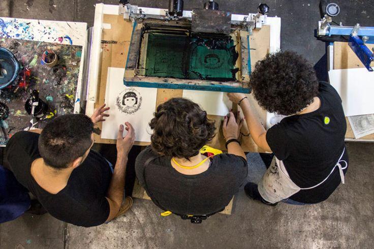 Curso de serigrafía: Print Workers Barcelona