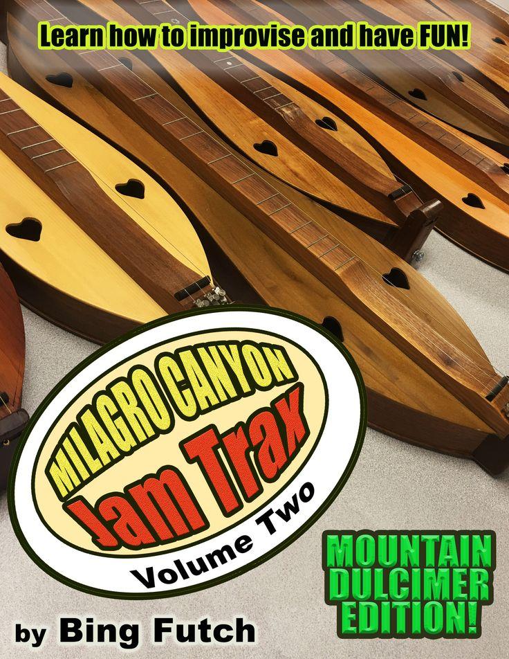 Special Pre-Order! Milagro Canyon Jam Trax Volume Two: Mountain Dulcimer Edition