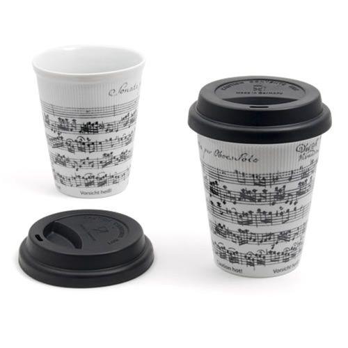 Sheet Music Travel Mug at The Music Stand