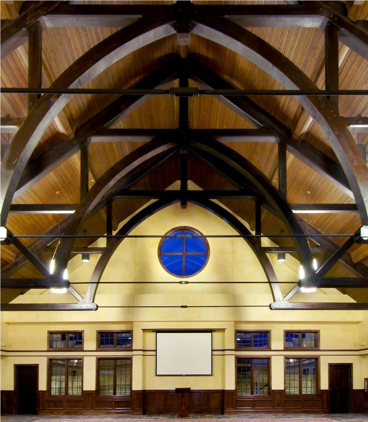 10 best arch detail truss images on pinterest wood arch for Arched ceiling beams