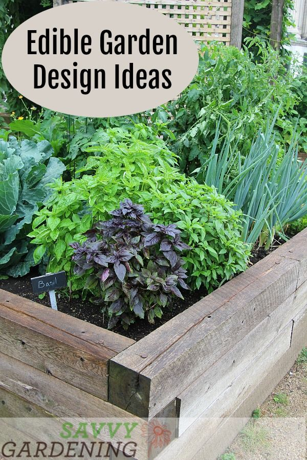 Edible Garden Design Ideas To Boost Production And Beautify Your