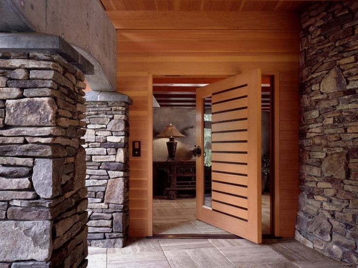 Decorating Home Exterior With The Natural Stone Drawhome