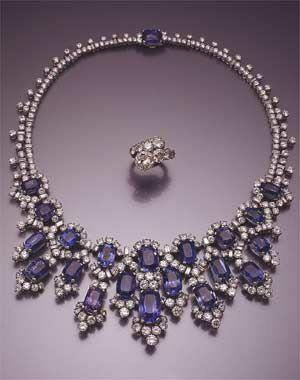 Jewelry belonging to Princess Soraya of Iran  (1932-2001), born Soraya Esfandiary-Bakhtiari, who was Queen of Iran as the second wife of Mohammad Reza Pahlavi, the last Shah of Iran.