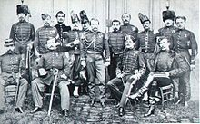 The French military mission to Japan, invited by Tokugawa Yoshinobu for the modernization of his forces, in 1867.