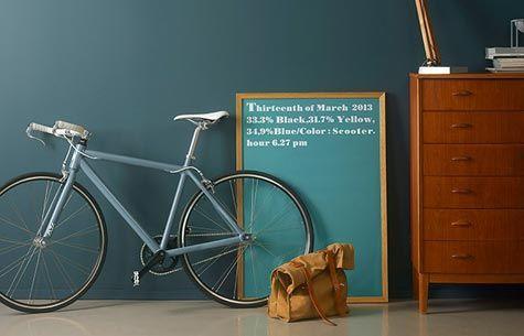 Interiørmaling - Årets farge for 2014 heter Teal - viivilla.no