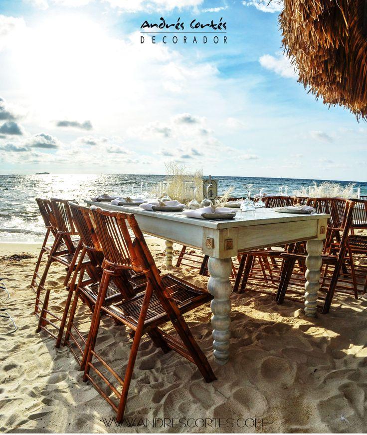 #Bodas #andrescortes #Playa #WeddingIdeas
