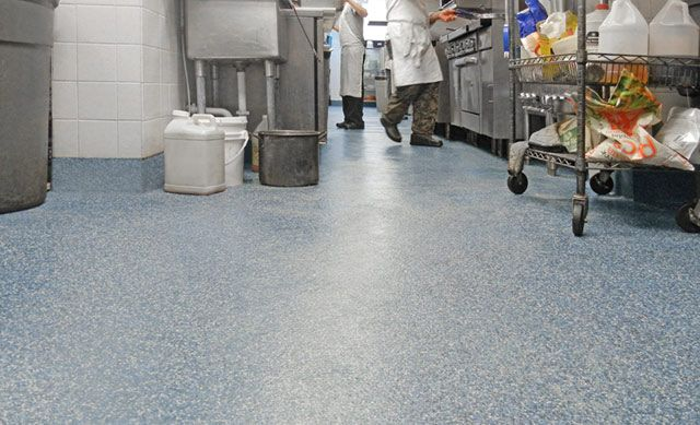 Commercial And Restaurant Kitchen Flooring Services Kitchen Flooring Commercial Kitchen Best Flooring