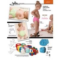 Jalie Pattern 2907 Diaper and Diaper Cover