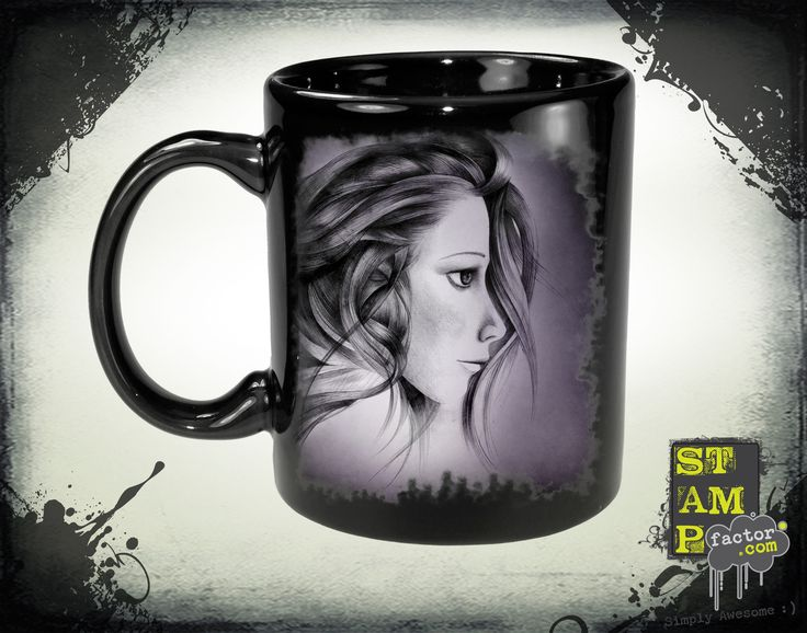 Katy (Purple Foggy Dream) 2015 Collection - © stampfactor.com *MUG PREVIEW*
