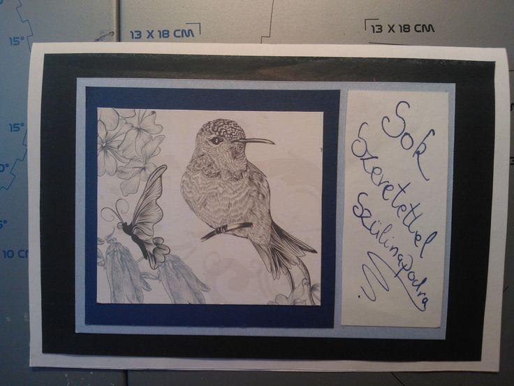 Kolibri card