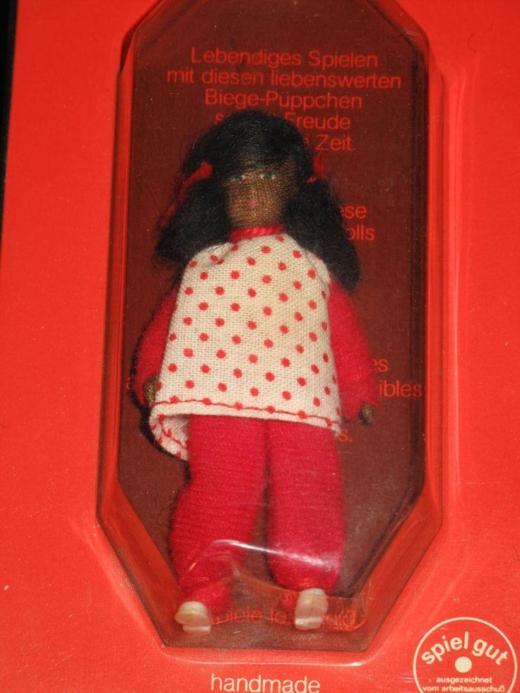 Vintage Erna Meyer AFRICAN AMERICAN BLACK GIRL DOLL Flexible Doll W GERMANY | eBay