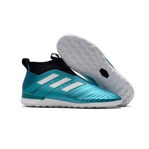 X Tango 17.3 in, Chaussures de Football Homme, Bleu (Footwear White/Energy Blue/Core Black), 48 EUadidas