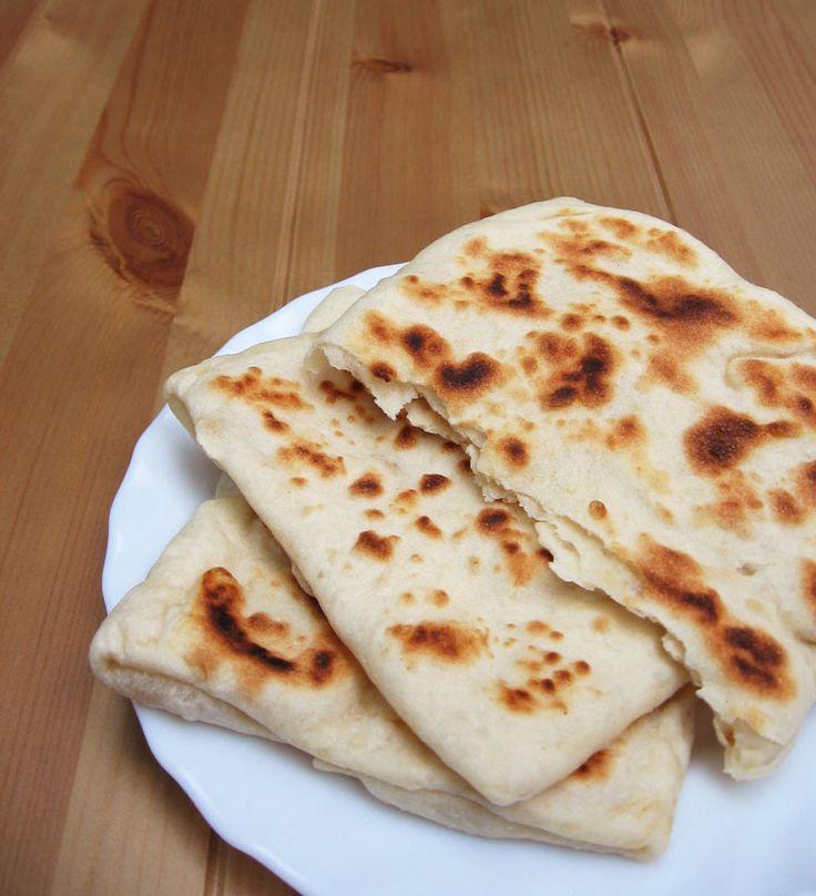Marokkói lapos kenyér, azaz rghaif