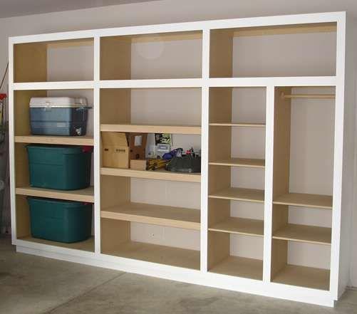 106 besten garage storage bilder auf pinterest treppe for Cheap wall storage ideas