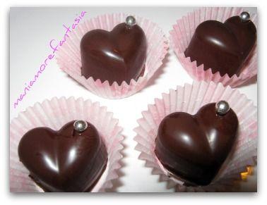 cioccolatini ripieni | ricetta cioccolatini fatti in casa | cioccolato