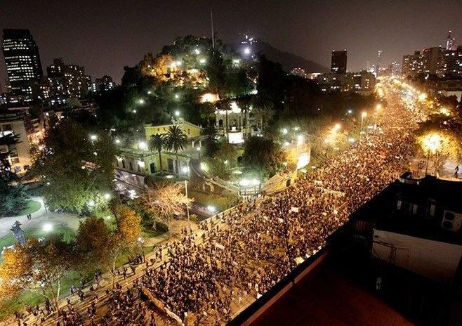 se abrirán las grandes alamedas #SantigodeChile