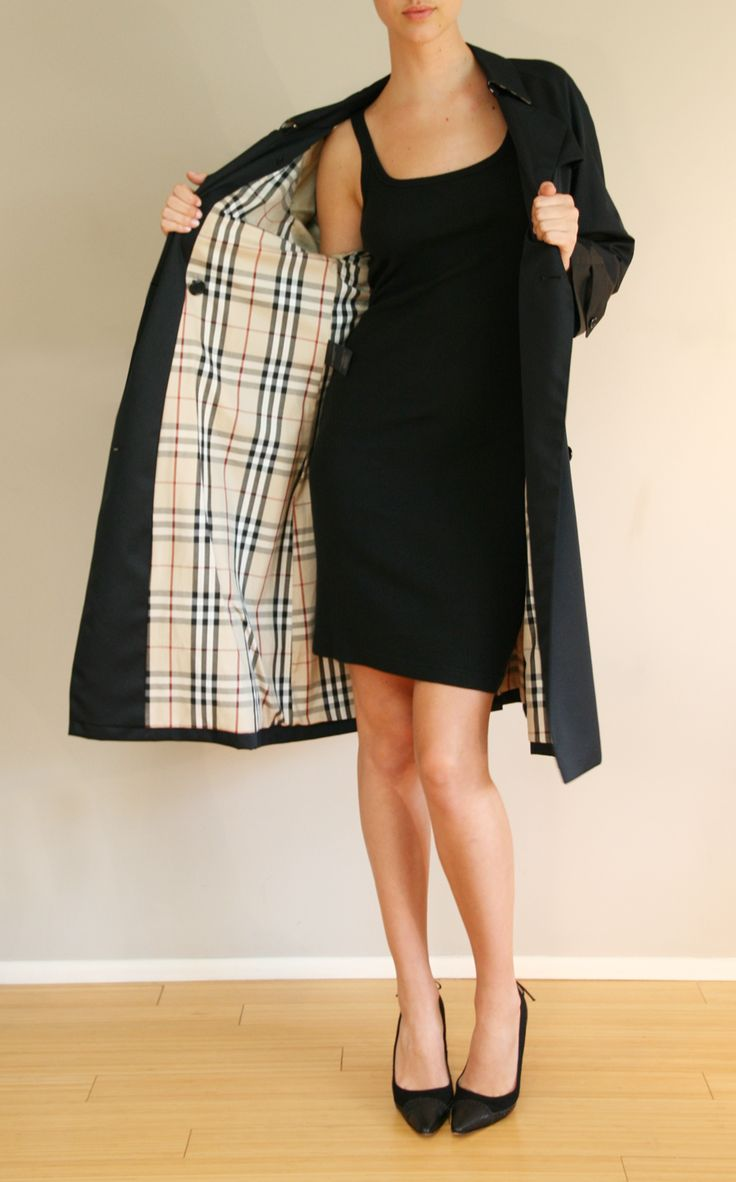 BURBERRY COAT @Michelle Flynn Coleman-HERS $220