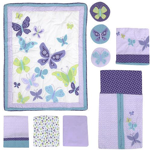 Babies R Us Butterfly Crib Bedding