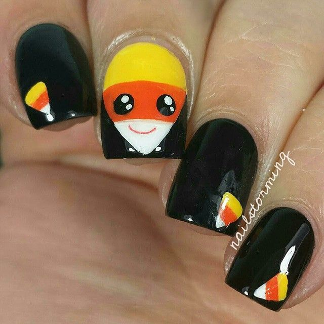 221 best halloween nail art images on pinterest holiday nails 221 best halloween nail art images on pinterest holiday nails nail art and nail designs prinsesfo Images