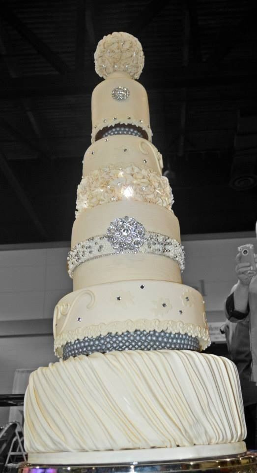Tall Wedding Cake Wedding Cakes Pinterest Tall
