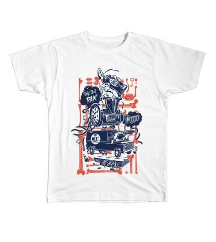 Le Cartel - Meat Express t-shirt by HRVB