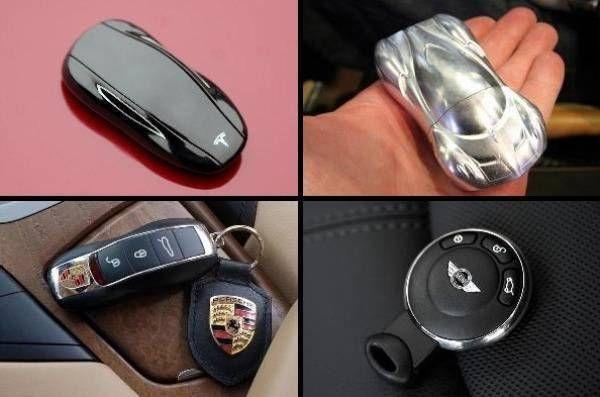 10 Marcas de Autos de Lujo #Innovan en el #Diseño de sus Llaves.