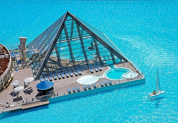 Resort San Alfonso del Mar - Chile - wanna go to there
