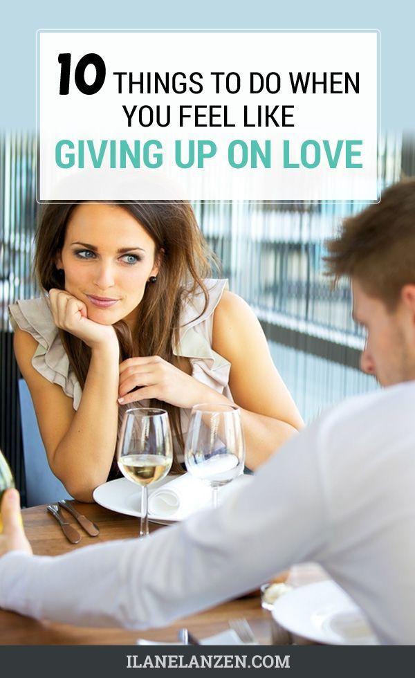 If you feel like giving up on love, you have probably been rejected and feel a lot of pain in your heart right now. Here's what you need to do so that you don't give up on love.