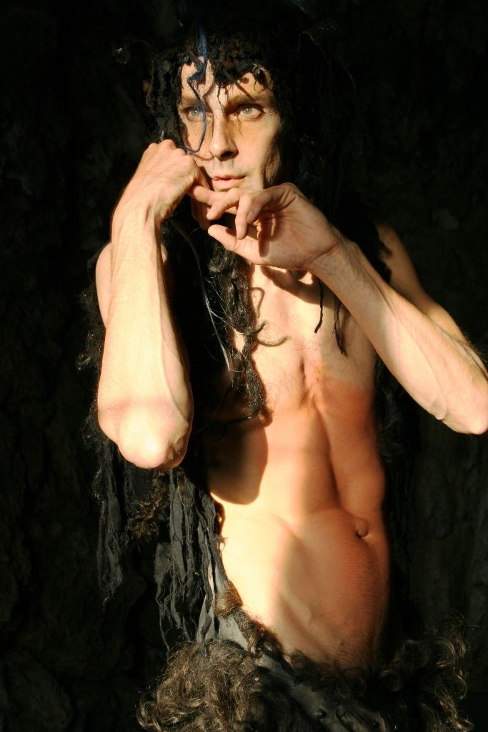 Chris Channing. Performance - Faun / Satyr