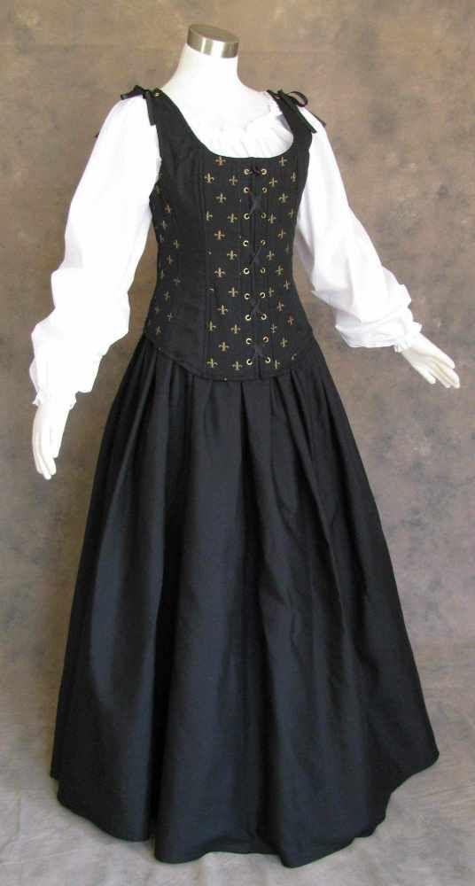 Plus size larp dresses