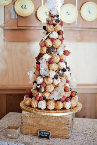 ... la première marche du podium des gâteaux de mariage. Éclipsée