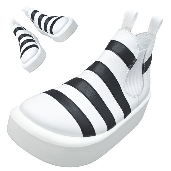 TOKYO BOPPER No.890 / Black & White shoes featured on Jzool.com