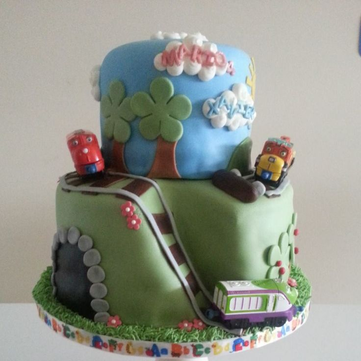 Best Chuggington Cakes  Treats Images On Pinterest Birthday - Chuggington birthday cake