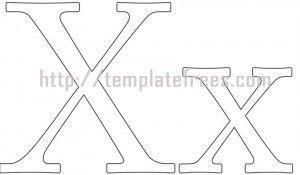 22 best Free Printable Letter Stencils Templates images on
