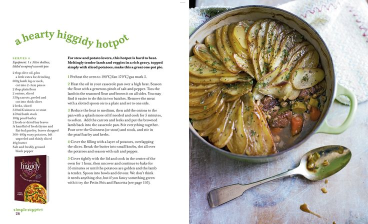 Is there anything more satisfying in cold weather than a Hot Pot? This recipe is taken from the Higgidy Cookbook.