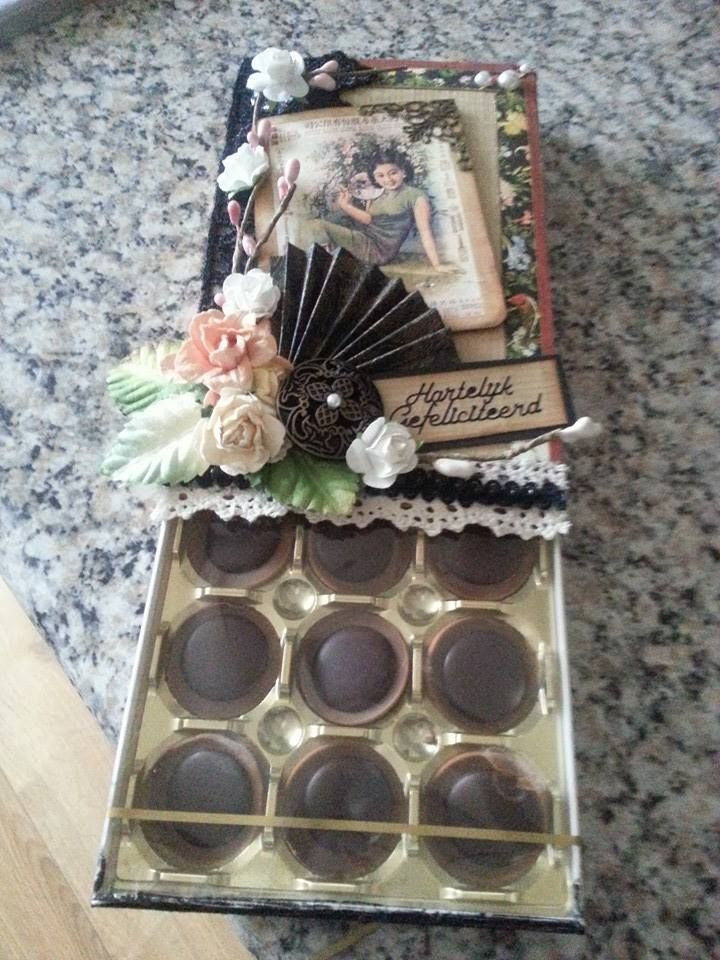Altered toffifee box