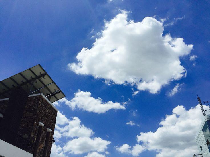 Sunny sky in Daegu / July 26, 2015 / #Korea #Sky #Daegu #한국 #하늘 #대구 #구름