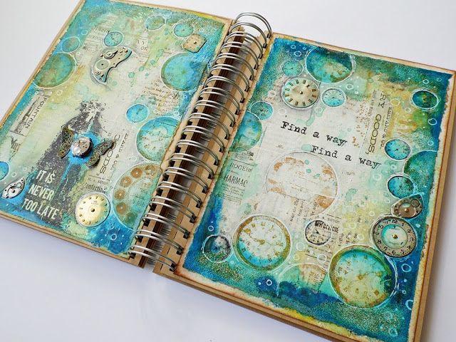 Jamaica: Find a way - art journal