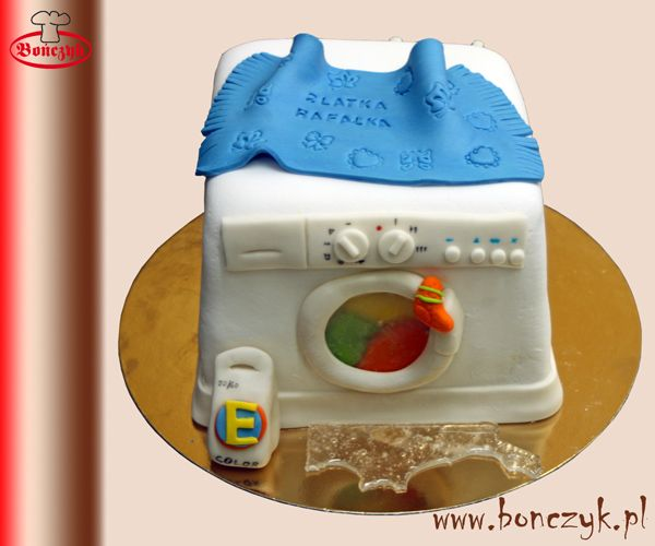#pralka; #washer; #tort; #cake; #tortpralka; #washercake; #washingmachine; www.bonczyk.pl