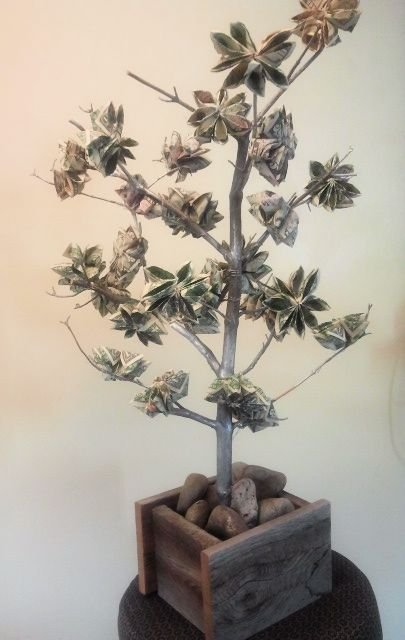 When Money Grows on Trees - fun wedding or graduation gift.