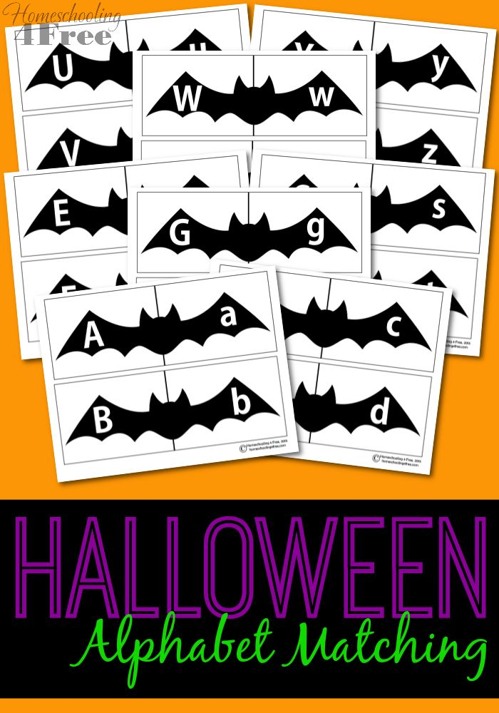 Halloween Alphabet Letter R Cat Witch Ryta: 1000+ Ideas About Letter Matching On Pinterest