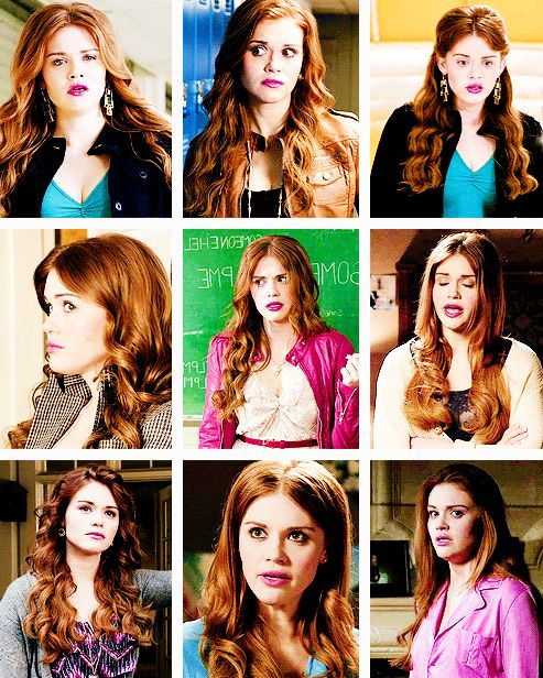Lydia Martin + hairstyles [3/∞] #redheads