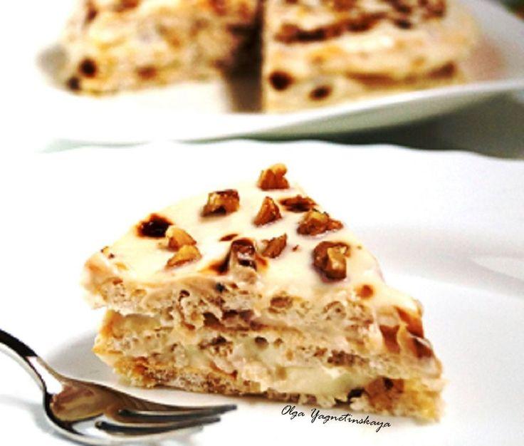 Диетический торт «Египетский» без муки!