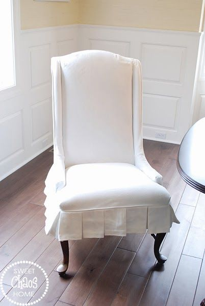 Find This Pin And More On Slipcovers Sweet Chaos Dining Chair